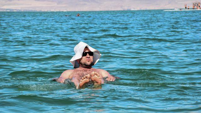 死海 おっさん
