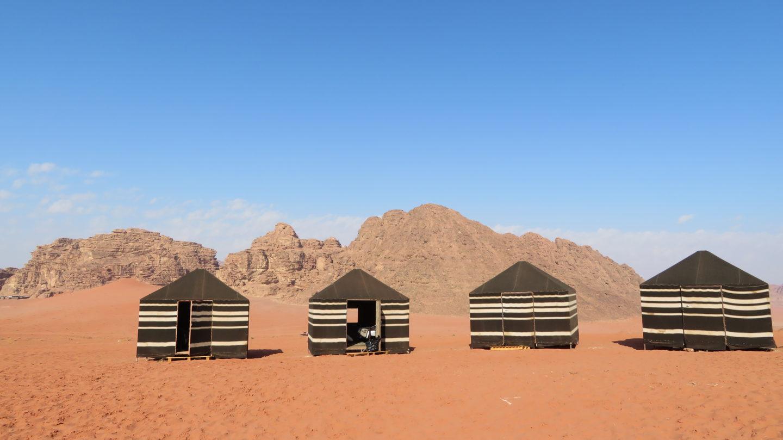 ワディラムのキャンプ