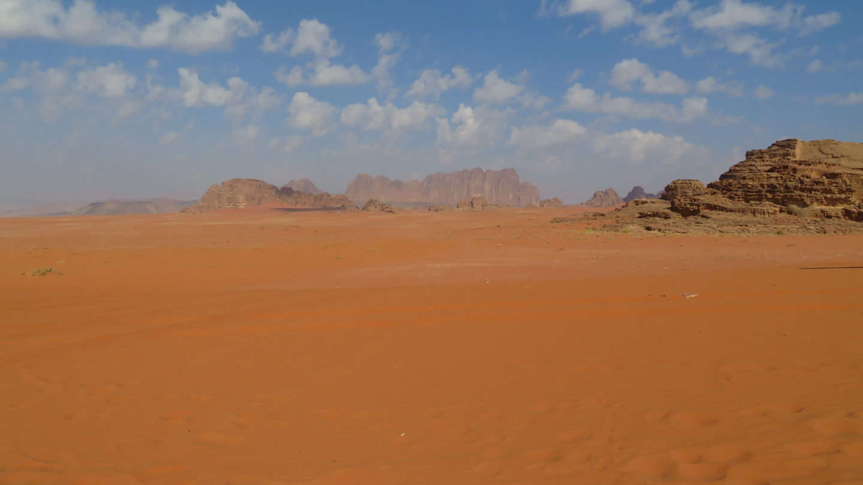 ワディラムの砂漠