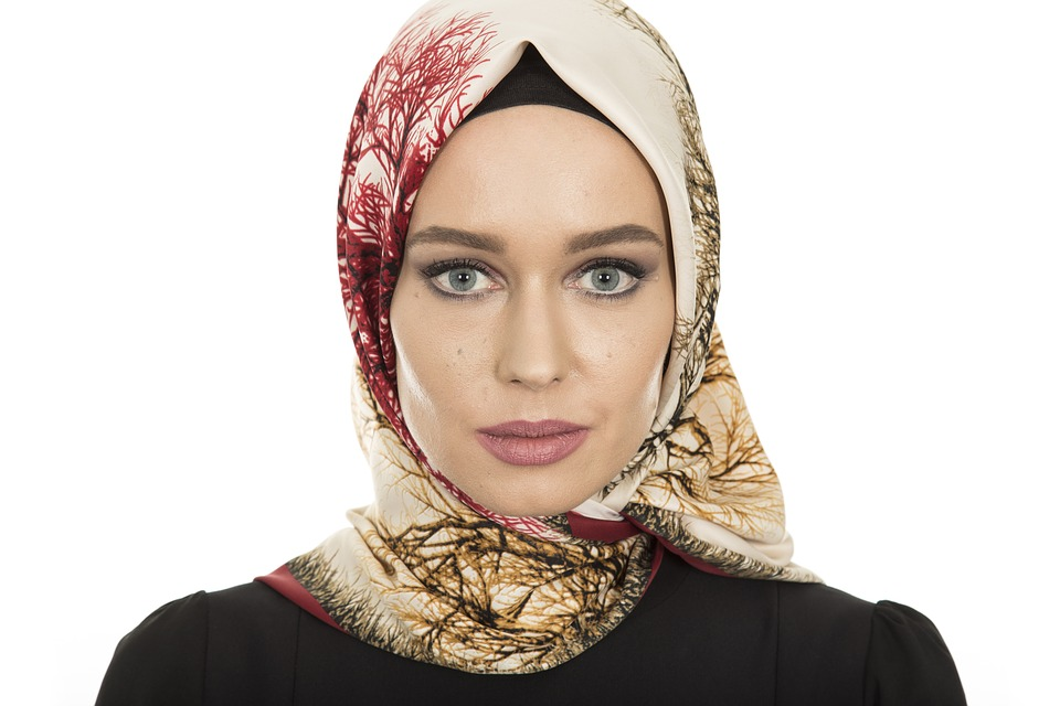 イスラム教徒 女性 モデル