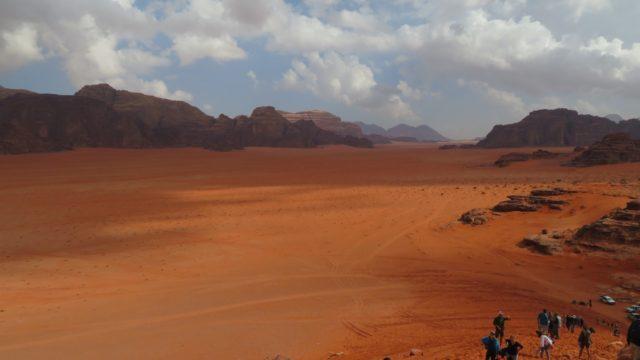 ワディラムの風景