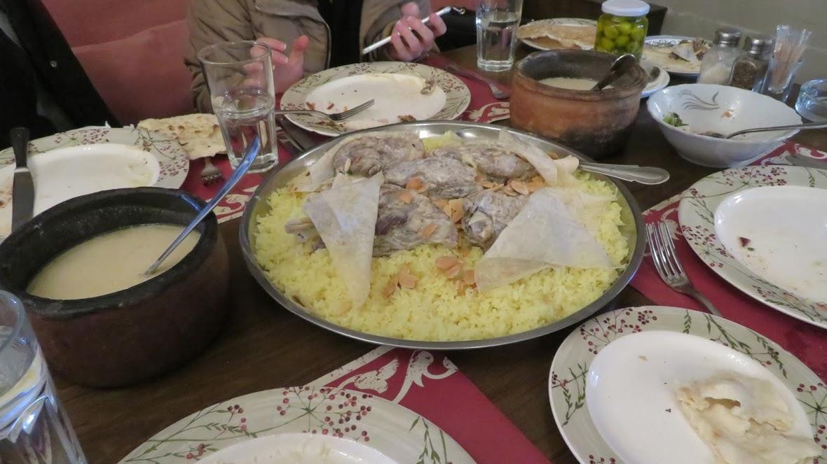 マンサフ ヨルダン料理