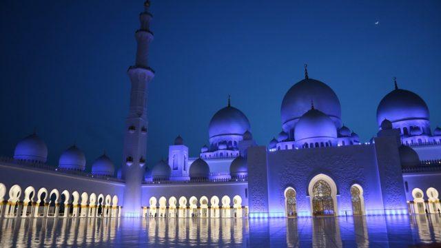モスク 夜
