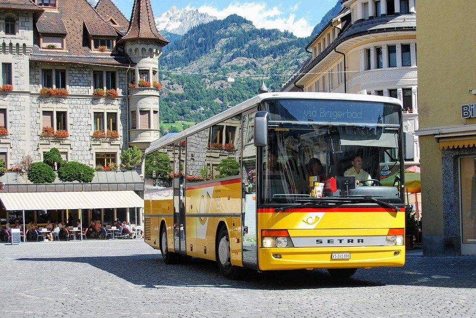 スイスのバス