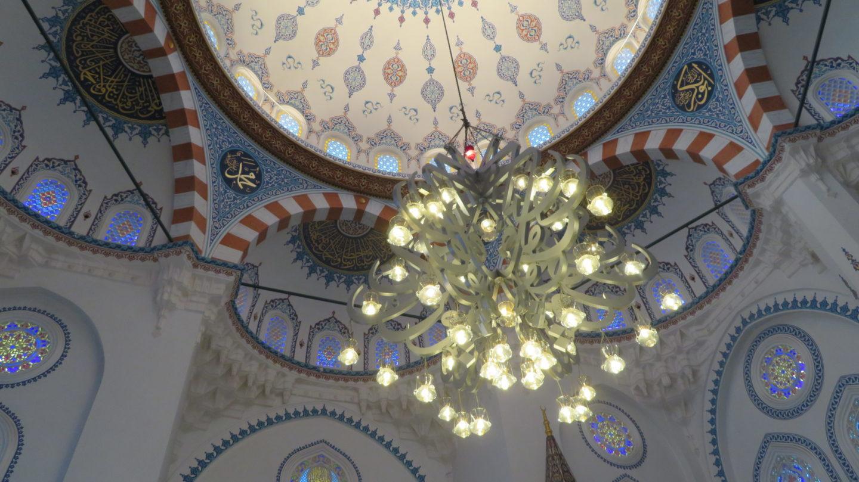 モスク 天井