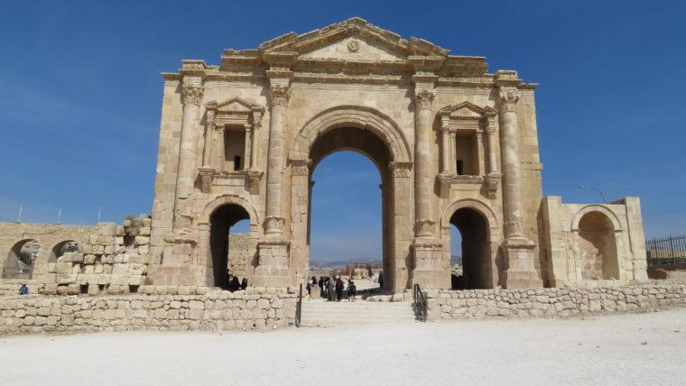 ジェラシュのハドリアヌスの門