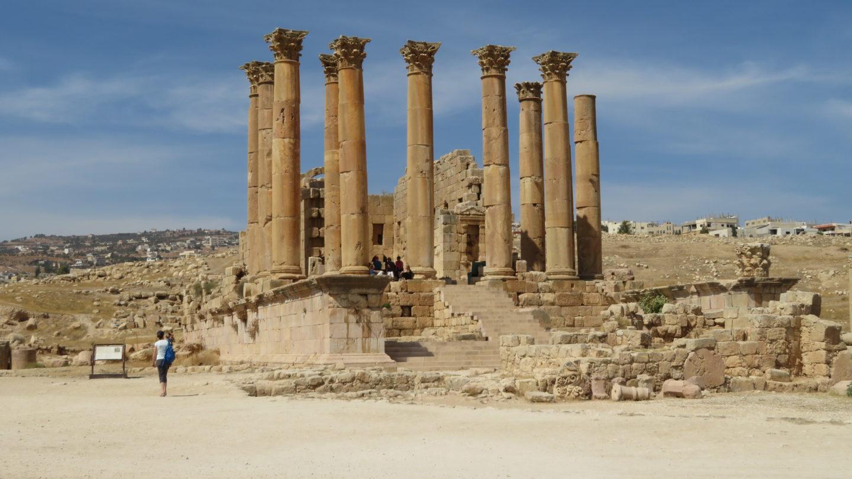 ジェラシュの神殿跡地