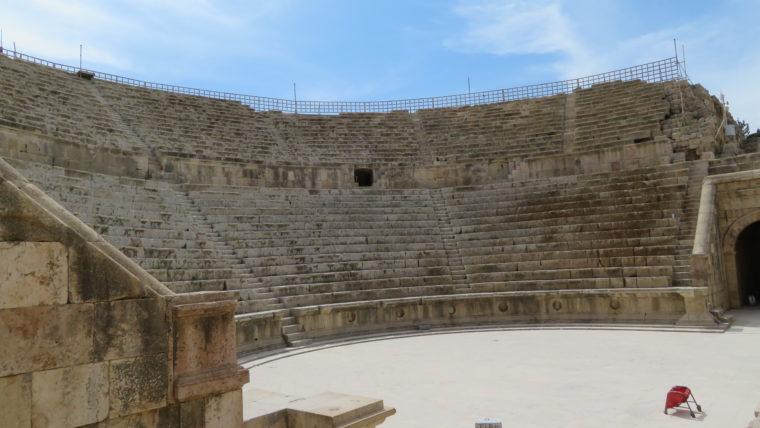 ジェラシュ ローマ劇場