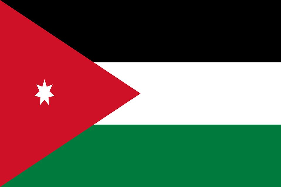 ヨルダン 国旗