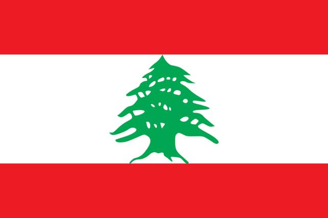 レバノン 国旗