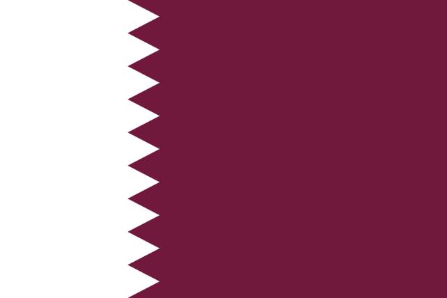 カタール 国旗