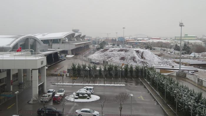 トルコの雪景色