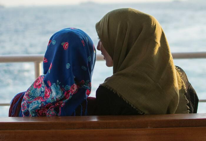 ムスリマの友人達