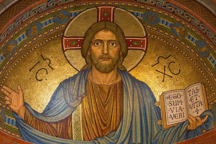 キリストのモザイク画