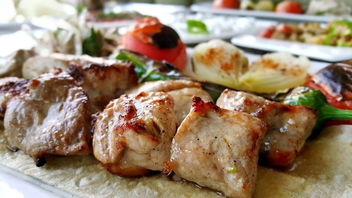 トルコ料理のケバブ