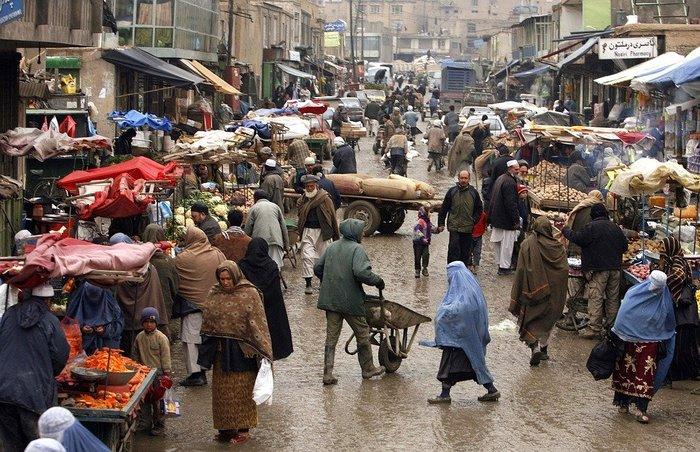 アフガニスタンの街中