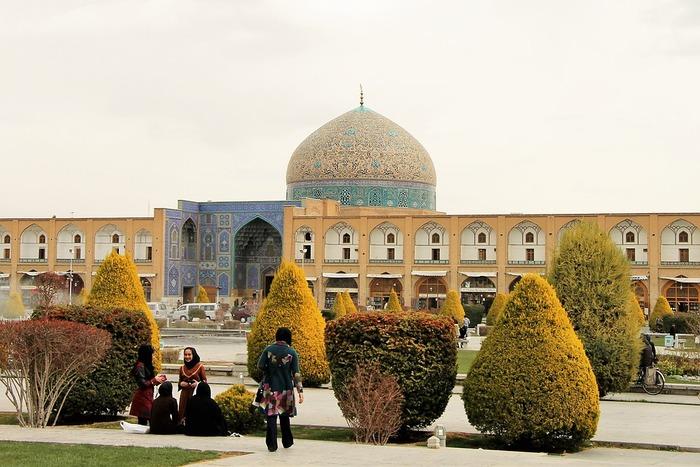 イスファハーンの建築物