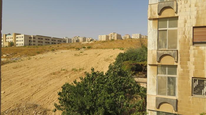 ヨルダンで泊まったホテルの裏