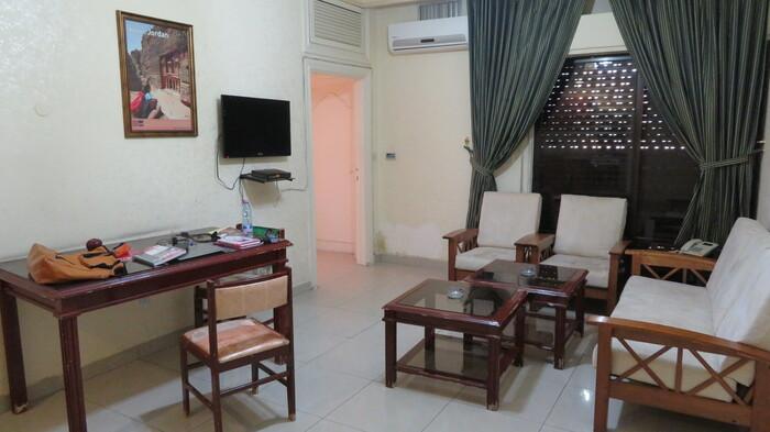 ヨルダンで泊まったホテル